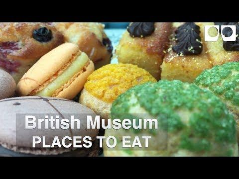 British Museum: Places To Eat