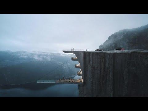 Turkish Studio To Build Cliff-side Hotel In Norway| CCTV English