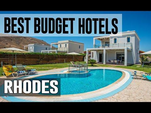 Cheap And Best Budget Hotels In Rhodes , Greece