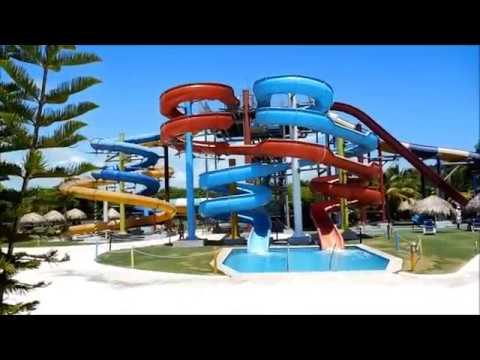 Grand Sirenis Punta Cana Resort Casino And Aquagames - Walkthrough And Montage