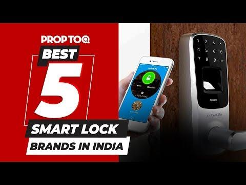 Best 5 Smart Lock Brands In India On The Basis Of Price