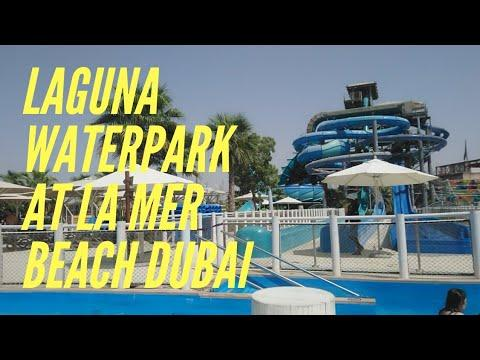 JUST THE 4 OF US OUTING | LAGUNA WATERPARK INSINE LA MER BEACH DUBAI