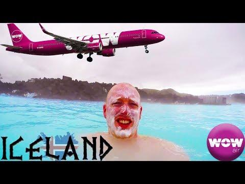 Iceland And The Blue Lagoon With WOW Air!