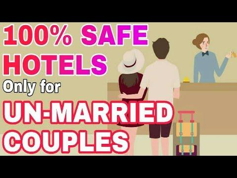 Book BEST HOTELS For UNMARRIED COUPLES In India By LuvStay (Privacy, Safety, Security, Legal Hotels)