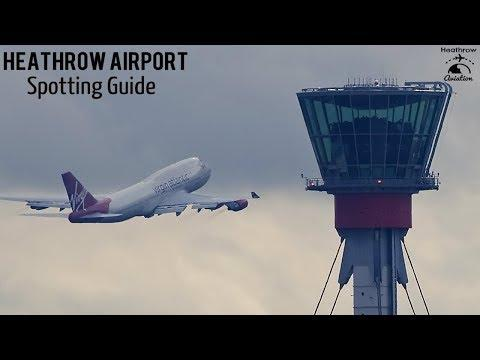 ULTIMATE London Heathrow Airport Spotting Guide | LOCATIONS, HOTELS & MORE | 2018