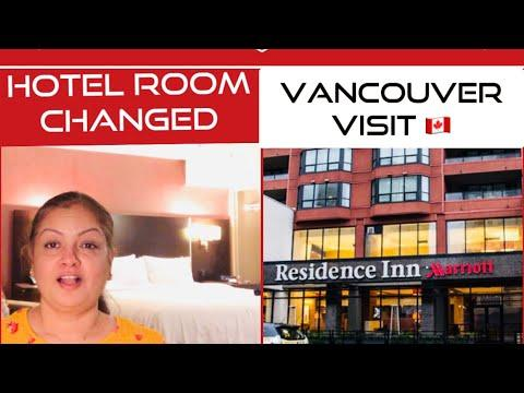 CHANGED HOTEL ROOM || TOUR OF THE NEW ROOM | VANCOUVER HOTELS | HOTEL ROOM TOUR DOWNTOWN VANCOUVER