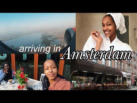 Staying At The Best Hotel In Amsterdam | Travel Vlog