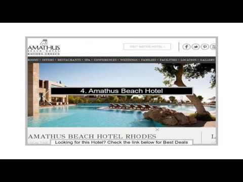 Top Rated 10 Stunning Rhodes Luxury Hotels